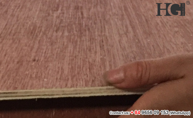 Packing plywood 4x8 back red