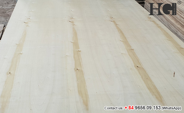 Vietnam packing plywood 2mm thickness