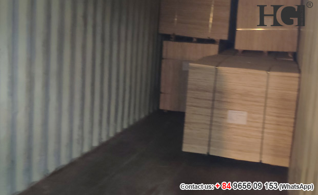 Vietnam packing plywood 3mm thickness loading to contairner